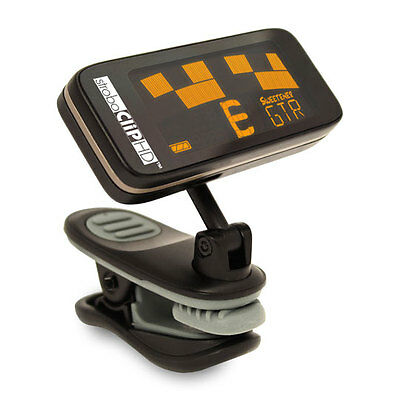 Peterson StroboClip HD High Definition Clip On Strobe Tuner, Tenth-of-a-cent Acc