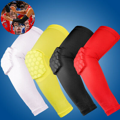 Neuf Protection De Bras Sport Basket-ball Volley-ball Compression Manchettes
