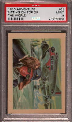 1956 Adventure #62 Sitting On Top Of The World Psa 9 N2403450-980