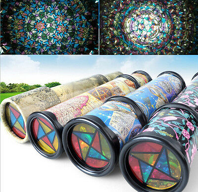 Vintage Kaleidoscope Children Kids Educational Science Toy Classic Toy Gifts L