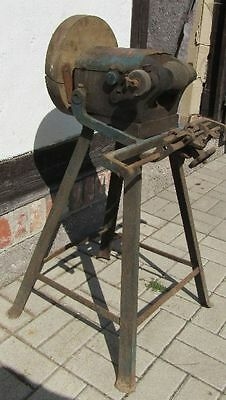 SCHLEIFBOCK Schleifmaschine mechanish TEMPO um 1920