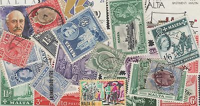 Malta  Stamp Collection -- 240 Different -- Top Quality