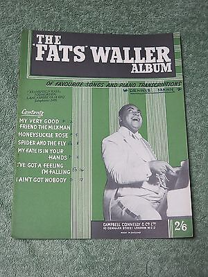 Fats Waller Sheet Music • £5.00 - PicClick UK