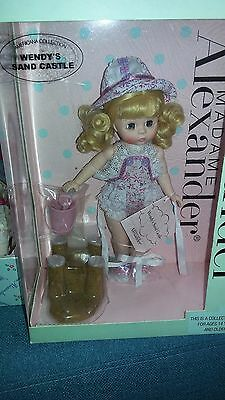 """Madame Alexander WENDYS SAND CASTLE Doll  NEW IN BOX 8"""" AMERICANA COLL."""
