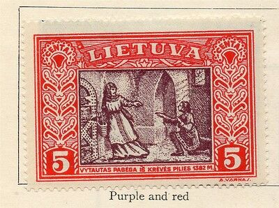 Lithuania 1932 Early Issue Mint Hinged 5c. 185209