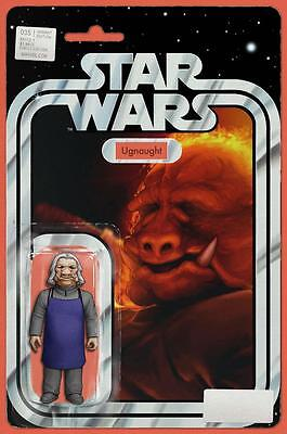 Star Wars #35 Ugnaught Christopher Action Figure Variant Comic Book