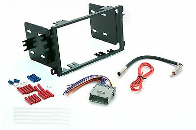 Scosche GM1590DDB Double Din Dash Kit For Stereo Radio Install w Harness Antenna