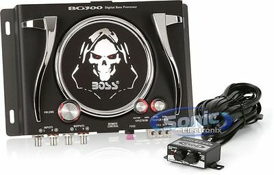 Brand New BOSS BG300 Bass Sound Epicenter/Processor Generator Remote Control