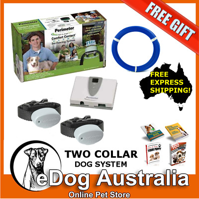 Perimeter Technologies PCC 200 Dog Fencing System - Two Collar