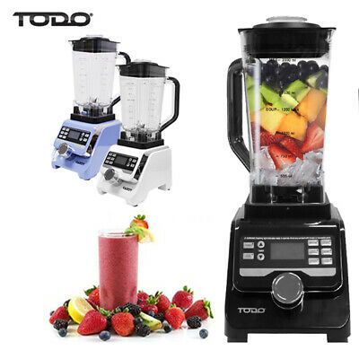 1400W Commercial Blender Processor 2L Tritan Bpa Free Jug Ice Crush
