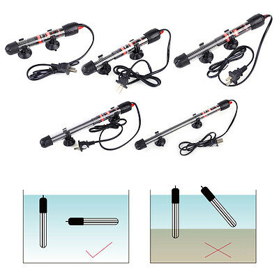 Submersible Water Heater Heating Rod For Aquarium Fish Tank 25 50 100 200 300W