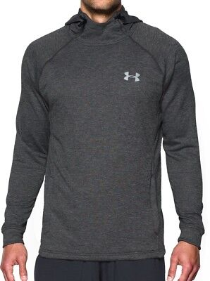 Under Armour Tech Terry Fitted Pullover Mens Hoody - Grey