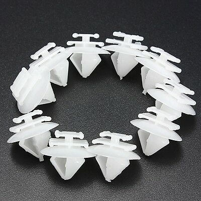 10x Door Trim Moulding Clips for Peugeot 106 206 207 1007 306 307 806 Citroen C2