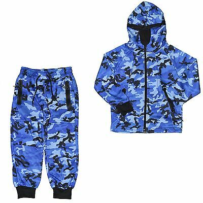Closeout - Set Full / Complete Jogging - Child - Kids Set Camo J275 - C New