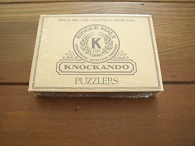 Knockando Scotch Whisky Bar Puzzlers