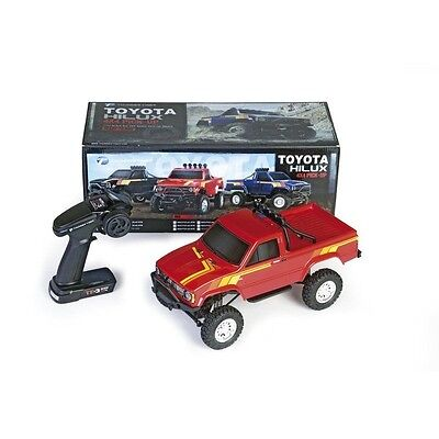 Thunder Tiger Toyota Hilux 1:12 Pick-up Truck 4WD, RTR, rot - T6603-F131-A2