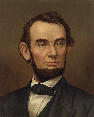Abraham Lincoln Painting 8x10 Silver Halide Photo Print