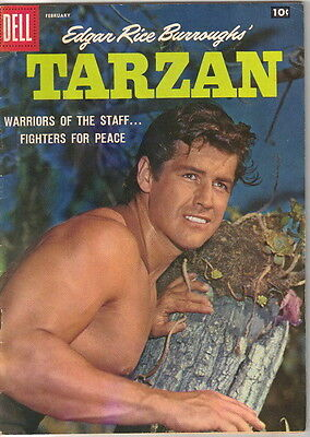Tarzan Comic Book #101, Dell Comics 1958 FINE