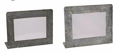 "Metal Galvanized Zinc Photo Picture Frame 4"" x 6"" OR 5"" x 7"" NEW KK8614-5"