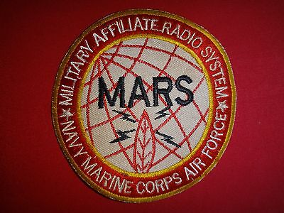 Vietnam War Patch US MILITARY AFFILIATE RADIO SYSTEM Navy Marine Corps Air Force