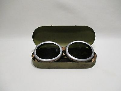 Ancienne Lunette Willson Goggles Aviator Motorcycle Auto Sunglasses Usa 1915 1e29dcf96a4d