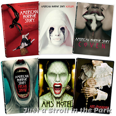 American Horror Story: TV Series Complete Seasons 1 2 3 4 5 6 Box/DVD Set(s) NEW