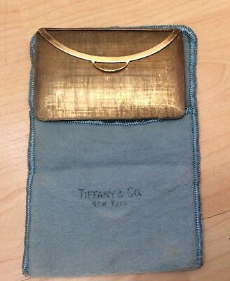 Tiffany & Co. 925 Sterling Silver Ladies Visiting Card Case  Italy