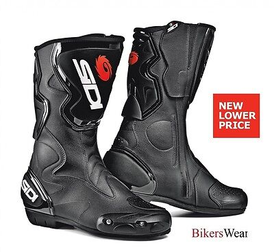 SIDI Fusion - Black Morotcycle Racing / Sports / Touring Everyday boot £ 50 OFF