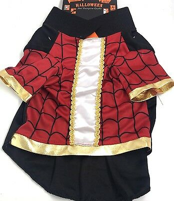 Dog Pet Halloween Vampire Outfit Costume New