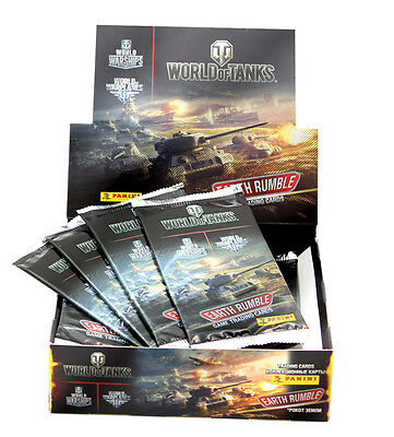 Panini World of Tanks Trading Cards 4 x Display / 96 Booster