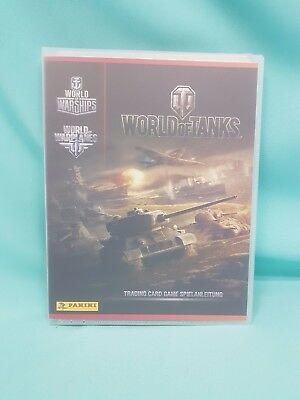 Panini World of Tanks Trading Cards  Sammelmappe Mappe Album