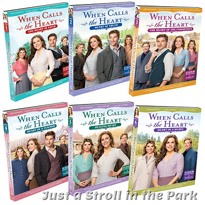 When Calls the Heart: TV Series Season 4 Complete Movies 1-6 Box/DVD Set(s) NEW!