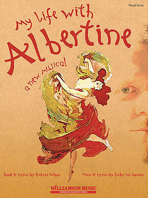 My Life with Albertine Full Vocal Score by Ricky Ian Gordon Sheet Music Book NEW