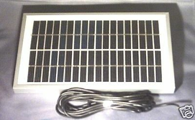 12V 4 Watt Waterproof   Solar Panel Charger For  Microcat Baitboat