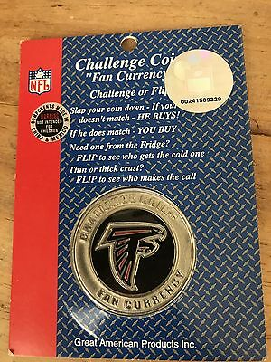 NFL Atlanta Falcons Challenge Coin