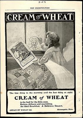 Cream of Wheat Advertisement March 1903