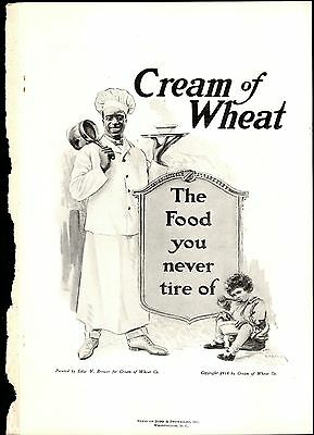 Cream of Wheat Advertisement September 1918