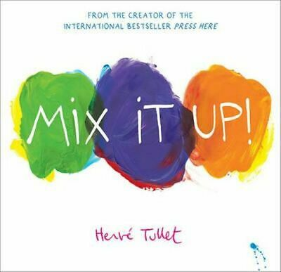 NEW Mix it Up! By Herve Tullet Hardcover Free Shipping