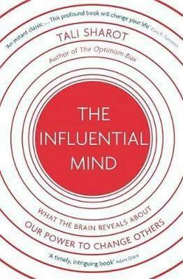 NEW The Influential Mind By Tali Sharot Paperback Free Shipping