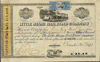 Little Miami Railroad Cincinnati OH Gold Panel $4,215,000 Hugh Jewett, Mary Hurd