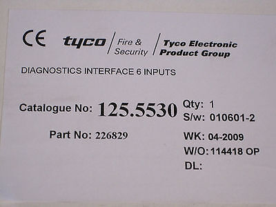 Zettler Lichtruf Tyco Medicall 800 Varioline 20 St.Diagnostik Interface 125.5530