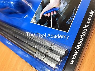 VW SHARAN 2000 ONWARDS T25 EXTRA LONG HEADLIGHT ADJUSTMENT TOOL KIT  + 6mm 7mm