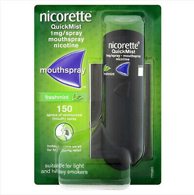 Nicorette quick mist 1mg spray. FRESHMINT