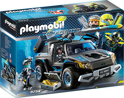 PLAYMOBIL® Top Agents 9254 Dr. Drone Pick-up Truck