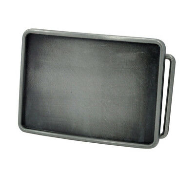 Rectangle Belt Buckle Blank - Add your Own Design - Custom DIY