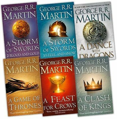 A Game of Thrones Book Set George R R Martin Pack - Good
