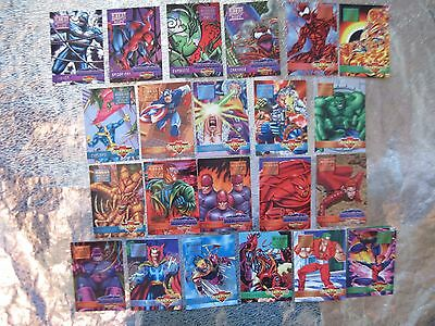OVERPOWER Mission 22 CARDS Anxiety Carnage Infestation Sins Fatal  Apocalypse