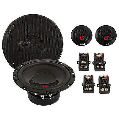 "CERWIN-VEGA 120W RMS 6.5"" 2-Way HED Component Car Stereo Speaker System 