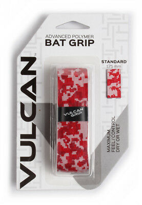 Vulcan V175-RCAM Standard Bat Grip 1.750 mm Red Camo