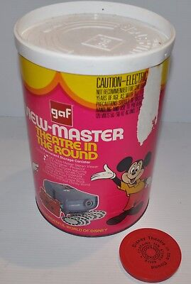 VIEW-MASTER Theatre in The Round Projector Viewer DISNEY THEATRE